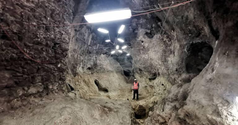Jaskinie pod zamkiem w Olsztynie